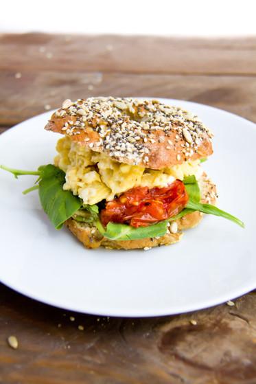 Pretzel Bagels with Chia, Sesame & Sunflower Seeds (GF)