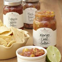 Salsa Collection -  Mango Lime, Pineapple Chipotle  & Black Bean