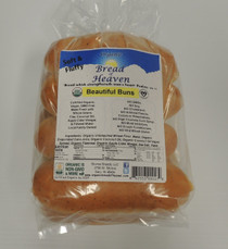 Organic Beautiful Hot Dog Buns - 8 pack