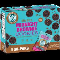 Goodie Girl Cookies™ Midnight Brownie Cookies 6 Count Go Paks