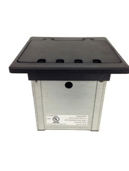 Two-Gang Electrical Box - Black