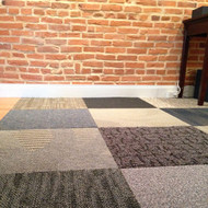 "Assorted 24"" Carpet Tiles"