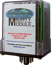 Wilkerson MM9046-9 Mighty Module Regulated DC Power Supply, 9VDC 120 mA Output 115VAC Input