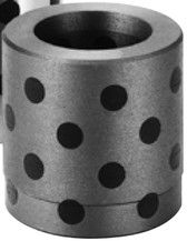 Sankyo Oilless GPBF 60 Straight Type Guide Bushing Bearing, FC250 with Graphite, 80mm OD x 60mm ID x 90mm L