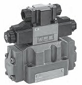 Tokimec Vickers DG5VC-H8-2C-T-PS1-H-80-JA570 Solenoid Controlled Pilot Operated Directional Control Hydraulic Valve