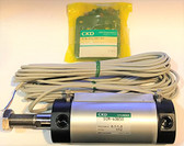 CKD Corporation SCM-FB-40B-50-TOH5-D SCM Series Double Acting Fine Speed Type Pneumatic Cylinder
