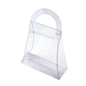Clear Acrylic Purse Box, 5 ct