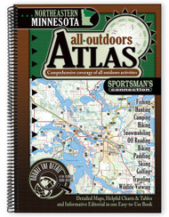 Northeastern Minnesota All-Outdoors Atlas & Field Guide cover - your complete guide to all of the outdoor opportunities the region has to offer