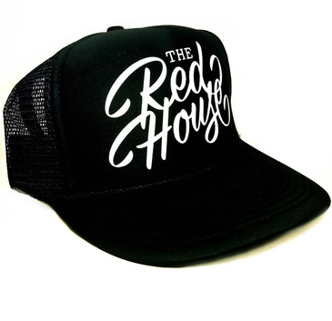 Red House Trucker Hat (Black)