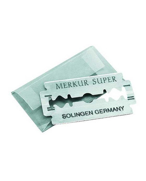 Merkur 10 Pack Replacement Safety Razor Blades