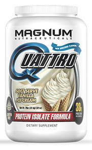 Quattro Multi Isolate Protein 2lb Vanilla Ice Cream