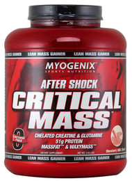 Myogenix After Shock Critical Mass, Strawberry Milk Shake - 5.62lbs