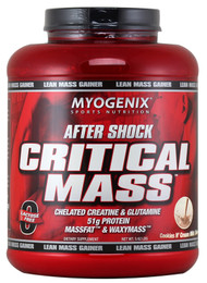 Myogenix After Shock Critical Mass, Cookies N' Cream Milk Shake - 5.62lbs