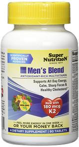 SuperNutrition Men's Blend Multivitamins, 90 Count