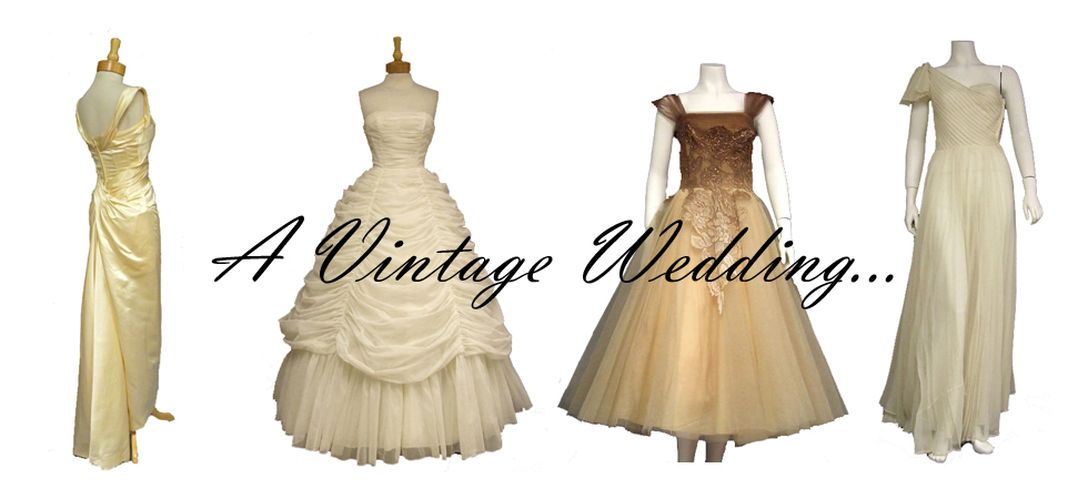 vintage wedding gowns