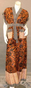 SUPER 1970's Jean Muir Silk Evening Ensemble