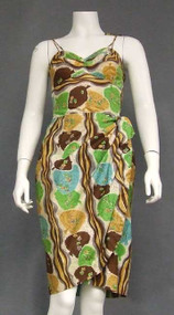 1950's Hawaiian Sarong Dress