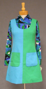RARE 1970's Pucci Braniff VI Stewardess Uniform