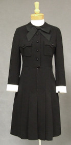 Nina Ricci 1960's Wool Dress