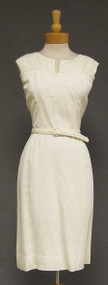 Flair of Miami Ivory 1950's Day Dress Belt