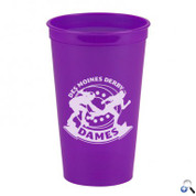 Cups-On-The-Go -20 oz. Transparent Stadium Cup - SC22T