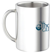 Double Wall Stainless Steel Mug - 9 oz. - 45891
