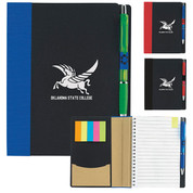 Eco Notebook with Flags - 5 x 7 - 15693