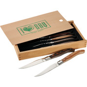 Laguiole® 6 Piece Array Steak Knife Set - 1250-37