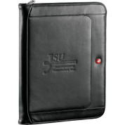Wenger® Exec Leather Zippered Padfolio Bundle Set - 1355-10
