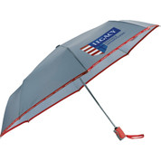 "42"" New Balance® Auto Open/Close Folding Umbrella - 1906-23"
