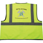 Safety Works Hi-Viz Lime Green Class 2 Safety Vest - 1914-05