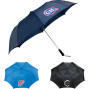 "58"" Auto Open Folding Golf Umbrella - 2050-05"