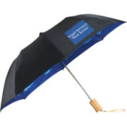 "46"" Blue Skies Auto Open Folding Umbrella - 2050-16"