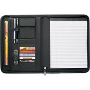 Burke Zippered Padfolio - 3280-10