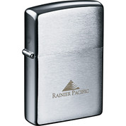 Zippo® Windproof Lighter Brush Chrome - 7550-19