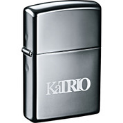 Zippo® Windproof Lighter Black Ice - 7550-22