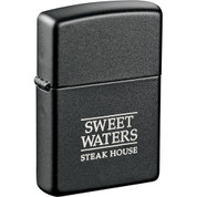 Zippo® Windproof Lighter Black Matte - 7550-26