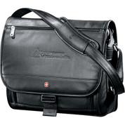 Wenger® Executive Leather Compu-Saddle Bag - 9350-16