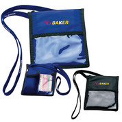 Neck Wallet with Lanyard - 65202