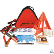 Deluxe Triangle Auto Safety Kit - AEKT10