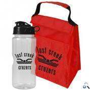 Lunch Tote Combo with Mini Mountain Bottle - CT7522F