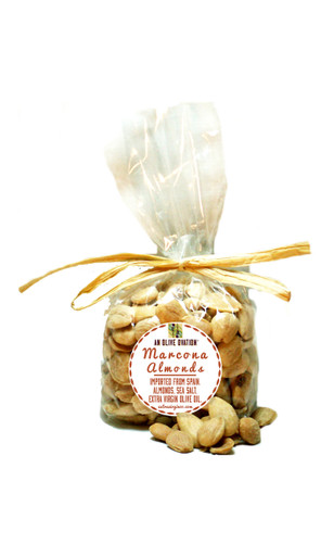 An Olive Ovation Marcona almonds 6 ounces
