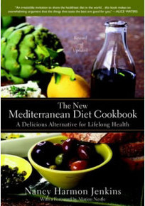 The New Mediterranean Diet Cookbook by Nancy Harmon Jenkins and Marion Nestle
