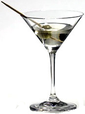Riedel Vinum martini glass