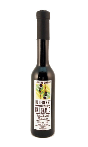 An Olive Ovation blueberry flavored balsamic vinegar 250 ml