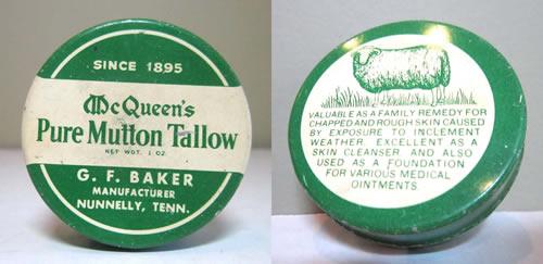 McQueen's Pure Mutton Tallow