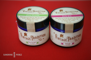 Vintage Tradition Tallow Balm. Photo courtesy of Sandrine Hahn Perez (NourishingOurChildren.org)
