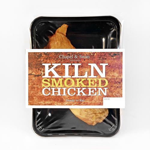 Kiln smoked chicken pack shot