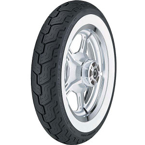 Dunlop D404 Wide Whitewall Rear Tire (Rim not included)