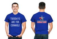 Tuesdays Are For Cornhole T Shirt